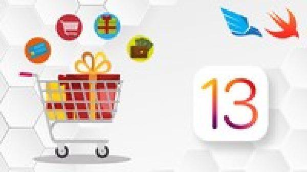 iOS 13 Online Shop Application, Build e-Market, for sale