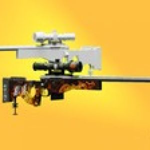 Blender 2.8 | Create Sniper Rifle Gun With Skin In Blender