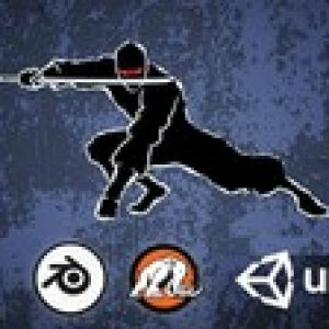 Make a Ninja Survival game for mobile in Unity and Blender!