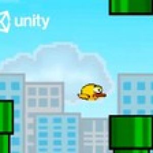 Make a 2D Flappy Bird Game in Unity : Code in C# & Make Art!