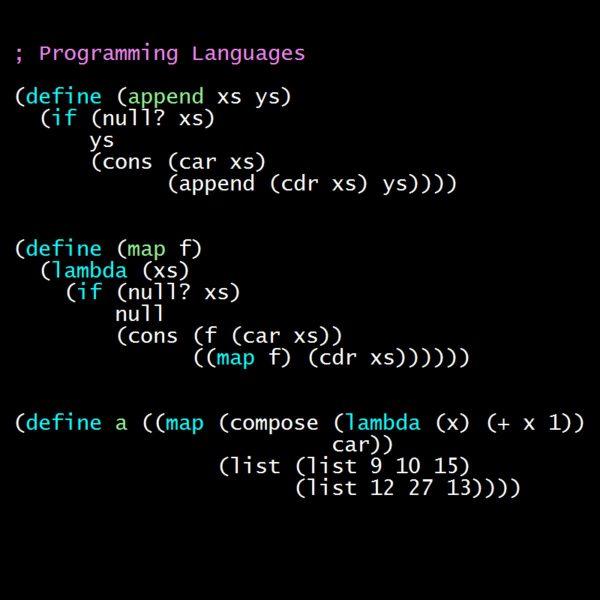 Programming Languages, Part B