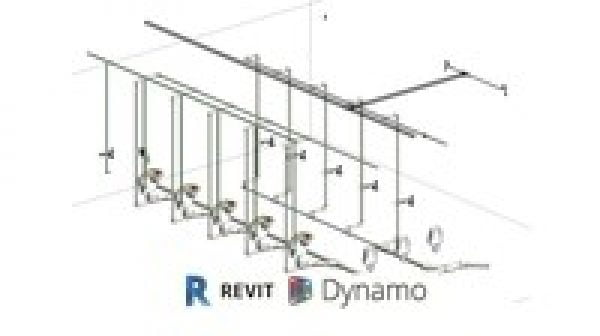 Accelerated BIM Modeling with Revit 2020 Piping and Dynamo