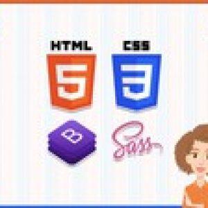 Front End Web Design UX, CSS, FLEXBOX & SASS Complete Course