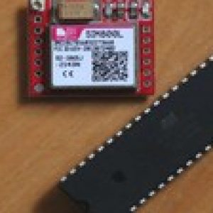 AVR ATMEL + GSM + GPS. Security alarm using SMS messages.