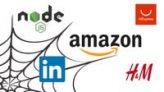 Web Crawling with Nodejs (H&M, Amazon, LinkedIn, AliExpress)